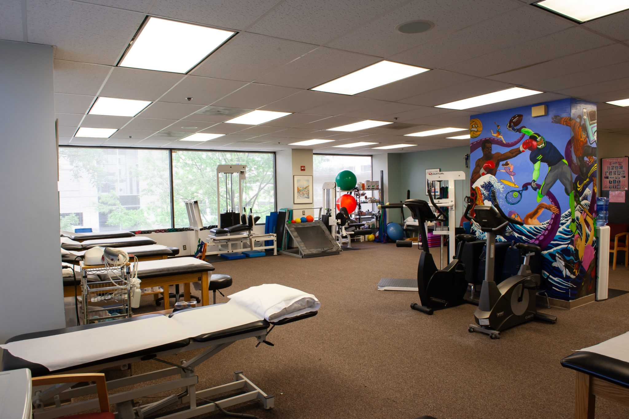 Bethesda Physical Therapy Gym - 1